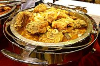 Jamaican-style curried fish