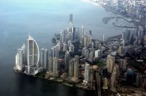 Aerial view of the city of Panama